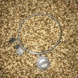 Alex and Ani Alpha Xi Delta Bracelet